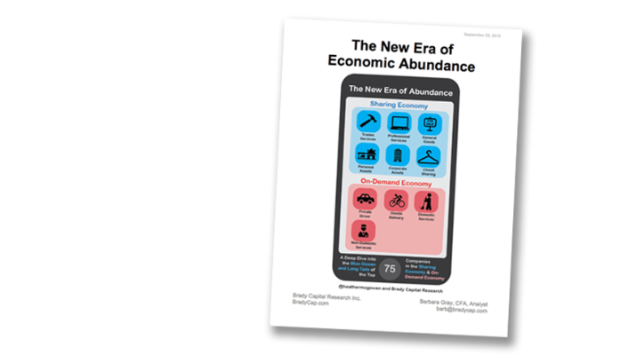 The New Era of Economic Abundance