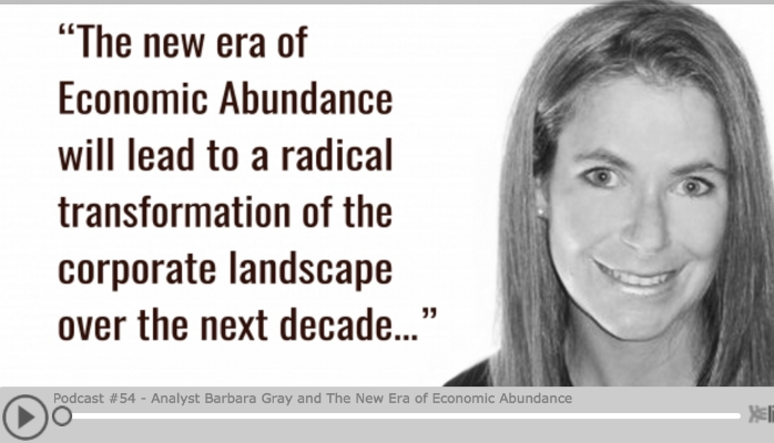 "Podcast Interview Highlights: ""The New Era of Economic Abundance"""